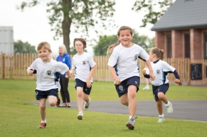 Ratcliffe College children running_prep