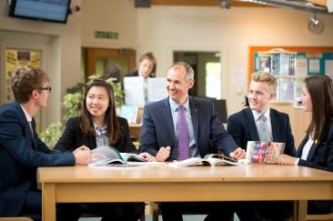 Headmaster & Students
